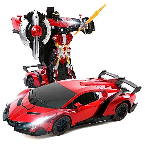 Discover Bargain Woote Electric Car Autobots Kids Gift, 1:14 Toy Intelligent Gesture Sensing Deforme...