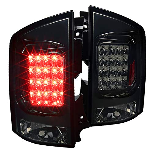 Spec-D Tuning LT-AMD04GLED-TM Nissan Armada Se Le Se-Offroad Led Tail Lights Smoked Lens