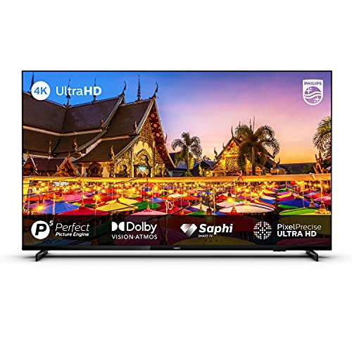 Philips 146 cm (58 inches) 4K Ultra HD Smart LED TV 58PUT7605/94 (Black) (2021 Model) | With P5 Perfect Picture Engine