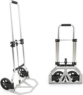 Cablematic–Carretilla de Carga Plegable, de Aluminio, 45kg y 97cm