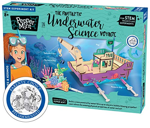 Thames & Kosmos Pepper Mint in The Fantastic Underwater Science Voyage Experiment Kit
