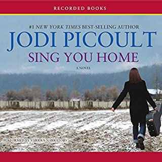 Sing You Home                   By:                                                                                                                                 Jodi Picoult                               Narrated by:                                                                                                                                 Therese Plummer,                                                                                        Brian Hutchison,                                                                                        Mia Barron                      Length: 17 hrs and 26 mins     1,972 ratings     Overall 4.0