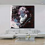 yhyxll Beethoven Von Andy Warhol Moderne Wohnkultur Bilder