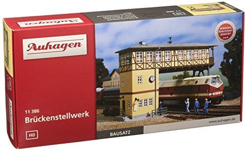 Auhagen 11386 Gantry Signal Box Modellierset