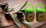 Yorem Turkish Black Olives - Naturally Fermented-750g-Pack of 2 - New ! زيتون أسود تركي - عطون أسود