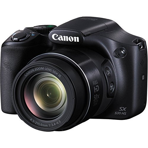 Canon PowerShot SX530 HS - Wi-Fi Enabled Digital Camera with 32GB SDHC Memory Card