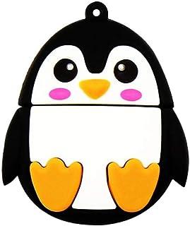 Pendrive Cute Penguin Shape Pen Drive 4GB USB Flash Drives Funny Gift Cartoon Penguin USB 2.0 Memory Stick Data Storage - ...