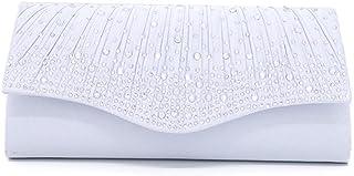 Kami-jia Damen Umschlag Clutch Abendtasche Braut Hochzeitstasche Handtasche Abschlussballtasche