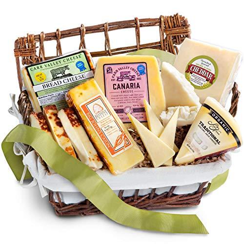Golden State Fruit Entertainer's Artisan Cheese Hamper Gourmet Gift Basket, 1.0 Count