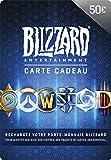 Carte cadeau Blizzard 50 EUR | Téléchargement PC - Code