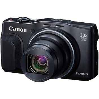 Canon デジタルカメラ PowerShot SX710 HS ブラック 光学30倍ズーム PSSX710HS(BK)