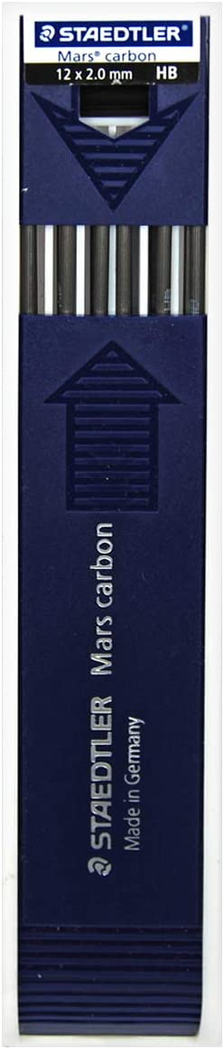Staedtler Mars Carbon Lead 67% OFF of fixed price 12 Outlet ☆ Free Shipping x HB 2mm 200-HB