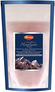 Shan Virgin Himalayan Pink Salt Fine Grain (800g) - Naturally Fortified with 84 Trace Minerals - Stand Up Pouch