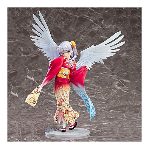 Anime Model Kimono Angel Hand-Made PVC Crafts, is a Good Creative Birthday Gift for Friends and Anime Fans Z-2020-7-20 image