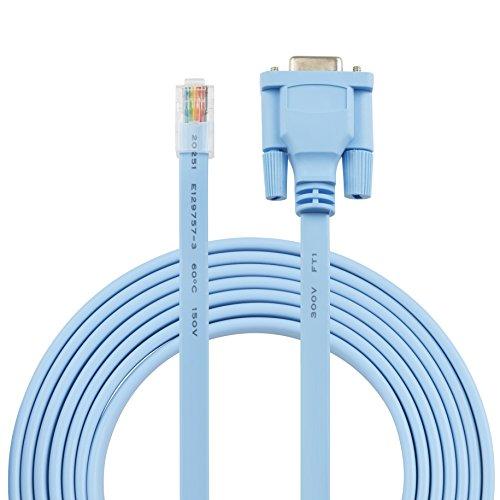 AGS Retail Ltd - Cable de Consola DB9 a RJ45 de Repuesto...
