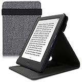 kwmobile Funda Compatible con e-Reader Kobo Aura H2O Edition 1 - Carcasa de Tela para Lector electrónico Textil