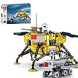 HYMAN 702 Piezas Kit de Bloques de Construcción Juguete de la Estación Espacial Lunar Lander, Compatible con Lego