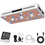 Phlizon CREE COB Series 1500W LED Plant Grow Light Full...