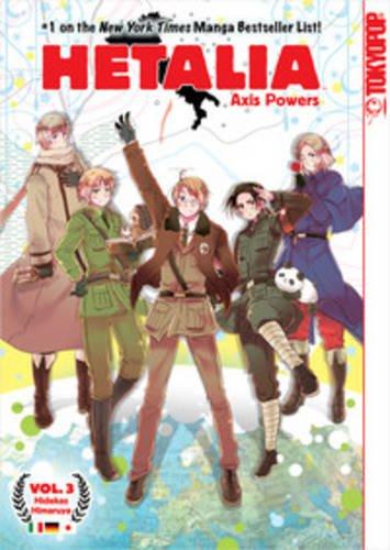 hetalia axis powers manga - 5