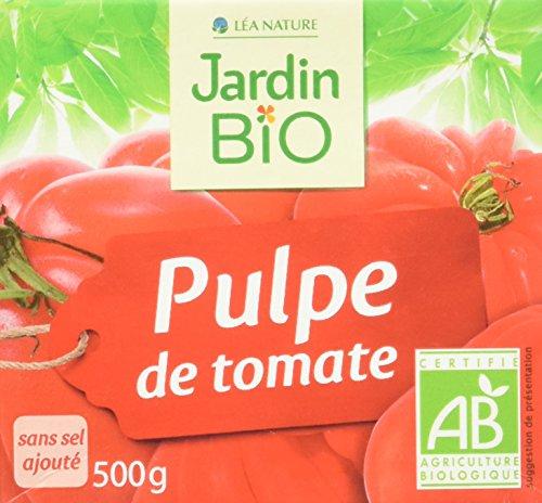 Jardin BiO étic Pulpe de Tomate sans sel ajouté 500g