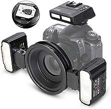 Meike MK-MT24II 2.4G Wireless Macro Close-up Twin Lite Flash fit for Canon EF-Mount RF-Mount Digital SLR Cameras