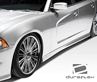 Brightt Duraflex ED-YZZ-636 Look Side Skirts Rocker Panels - 2 Piece Body Kit - Compatible With Charger 2011-2018