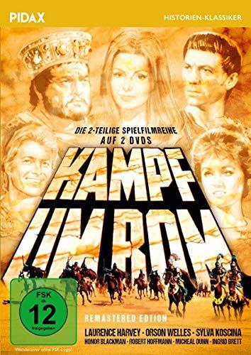 Kampf um Rom - Remastered Edition / Die komplette 2-teilige Spielfilmreihe mit Starbesetzung (Pidax Historien-Klassiker) [2 DVDs]