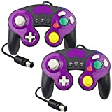 Controller for Gamecube, Compatible with Gamecube/Wii U/Wii/PC/Switch Controller, 2 Packs Classic Wired Controller