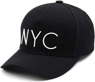 Flipper Minimal NYC Logo New York City 5 Panels Baseball Ball Cap Adjustable Cotton Hat for Men Women