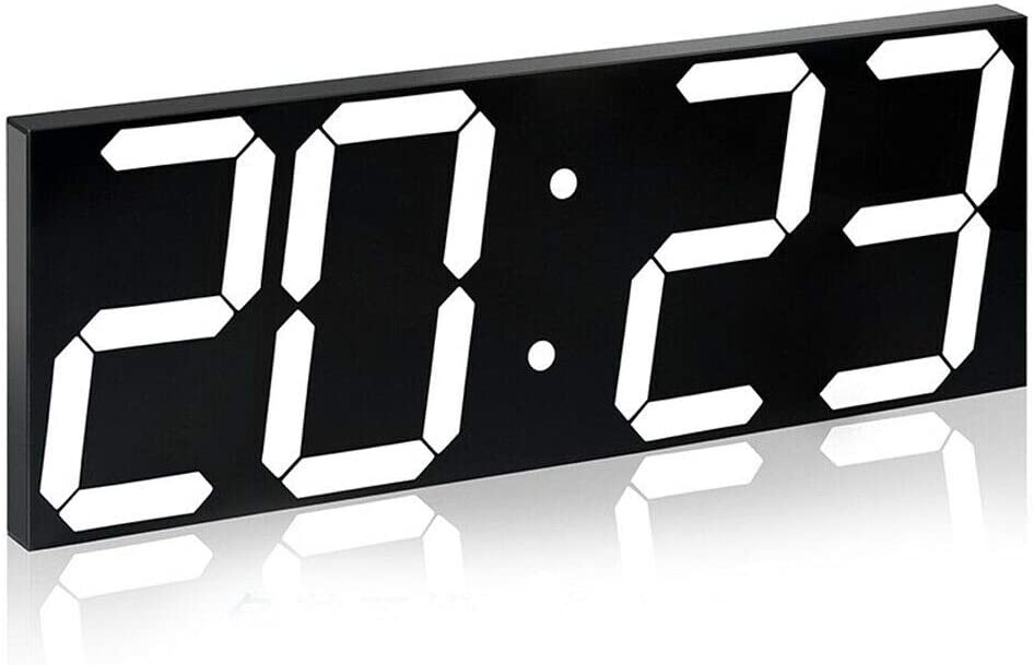 YIYIBYUS Digital Alarm Max 49% OFF Clock Remote LED Regular discount Large Wa Control