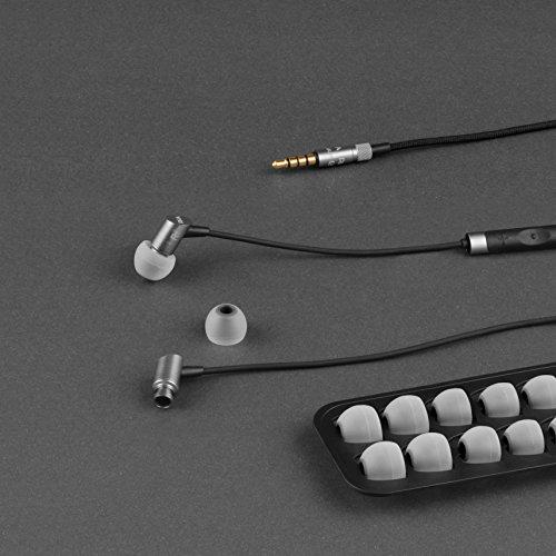RHA S500i Écouteurs Intra-Auriculaires Ultra-compacts en Aluminium, Isolant du Bruit avec télécommande et Microphone