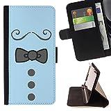 Graphic4You Krawatte Kleidung Männer Mode Design Brieftasche Leder Dünn Hülle Tasche Schale Schutzhülle für Samsung Galaxy Note 7