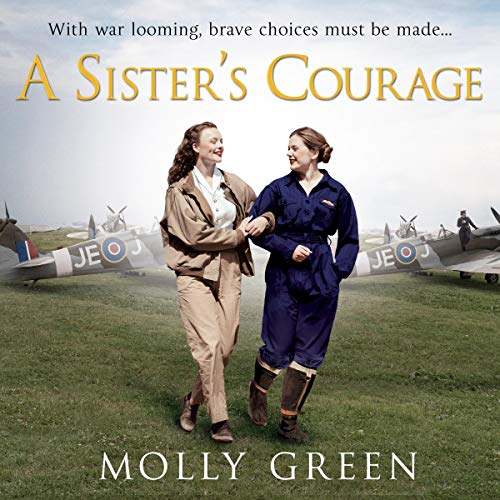A Sister's Courage audiobook cover art