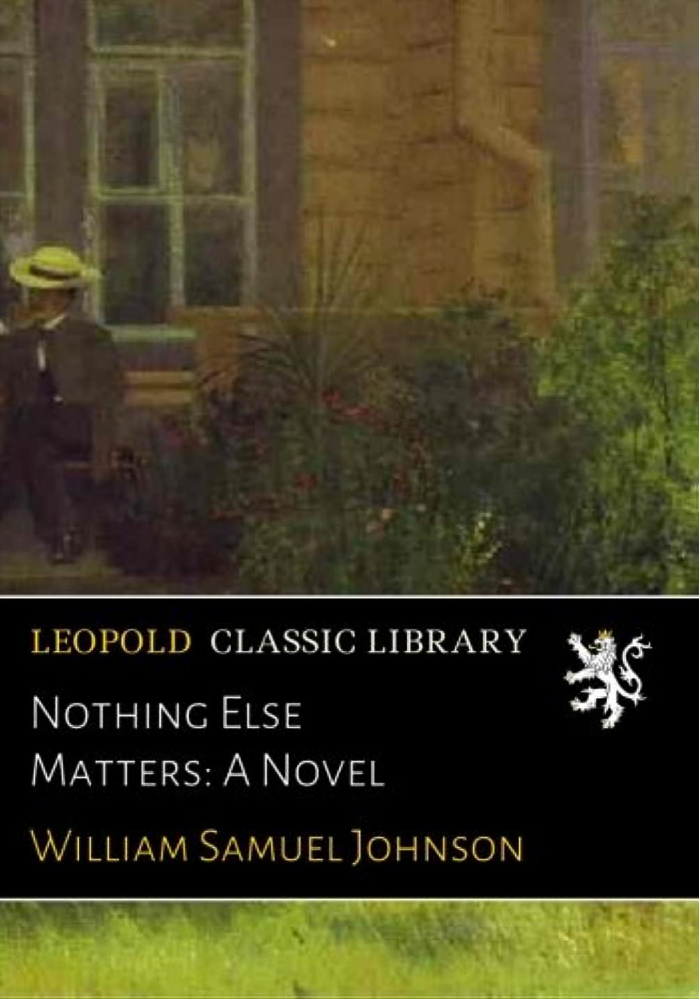 ダイアクリティカル乱気流混沌Nothing Else Matters: A Novel