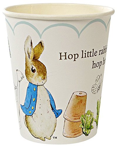 Meri Meri, Peter Rabbit Scallop Cups, Birthday, Party Decorations