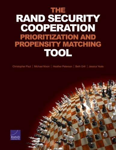 Compare Textbook Prices for The RAND Security Cooperation Prioritization and Propensity Matching Tool  ISBN 9780833080981 by Paul, Christopher,Nixon, Michael,Peterson, Heather,Grill, Beth,Yeats, Jessica