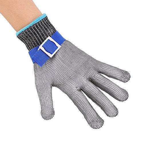 1 Stück Schnittschutzhandschuhe, Schnittfeste Handschuhe, Arbeitshandschuhe Stufe 5 Arbeitsschutzhandschuhe Mann Schnittfeste Handschuhe für Küche Metzger Arbeit SchutzHände Größe L