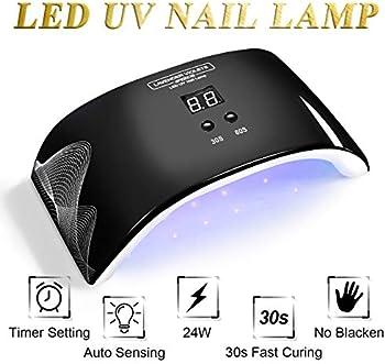 Led UV Nail Lamp Light with Timer Auto-sensor