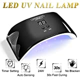 LED UV Nail Lamp Light with Timer Auto-sensor J721