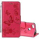 Concis, Pratique, Durable, Simple et élégant designFor Huawei P9 Lite Mini Vintage Floral Embossed...