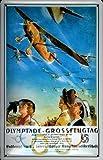 Campeonato de vuelo acrobático Berlín - Tempelhof 1936 Placa De Metal Cartel De Lata 20 x 30 cm