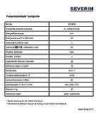 SEVERIN KS 9816 Mini-Gefrierschrank / 84.5 cm / 82 L Gefrierteil / 141 kWh/Jahr / Energieeffizienzklasse A++ / weiß - 3