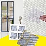 Mosquitera Puerta Antimosquitos 24 Unids/Set Anti-insectos Fly Door Window Anti Mosquito Screen Net Mesh Repair Tape Patch Patch Adhesivo Pegatinas Para El Ministerio Del Interior