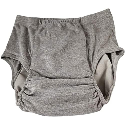 KHXJYC Pantalones cortos para el cuidado de la incontinencia, lavables y reutilizables, adecuados para ancianos, pacientes, mujeres embarazadas, unisex, XXL