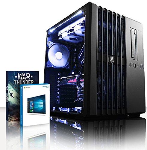 VIBOX Legend 17 PC Gaming Computer con Voucher di Gioco, Windows 10 OS (4,5GHz Intel i9 Extreme 10-Core Processore, 2x Dual SLI Nvidia GeForce GTX 1080 Ti Schede Grafiche, 16GB DDR4 RAM, 3TB HDD)