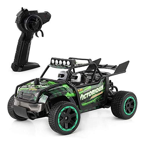 Control remoto Coche, 1/18 Scale RC Racing, camión de alta velocidad, Vehículo de escalada fuera de carretera 4WD, camiones de deriva en carretera, batería recargable, 30km / h, juguetes coches regalo