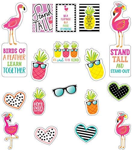 Schoolgirl Style - Simply Stylish Tropical | Juego de mini tablón de anuncios...