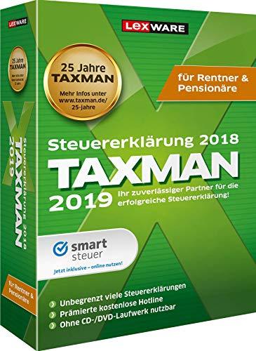 TAXMAN 2019 Rentner&Pensionäre|Basis|1 Gerät|1 Jahr|PC|Download|Download