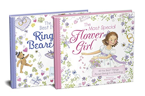 The Flower Girl and Ring Bearer 2-Book Wedding Gift Set: The Perfect Picture Books for the Littlest Members of Your Wedding Party (From Flower Girl Proposal to Photo Op!)