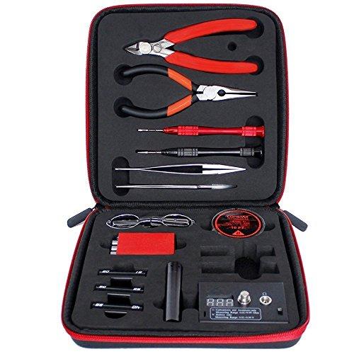 Leeko Coil Master V3 - Bobina Master DIY Kit, Conjunto de Herramientas con la última Bobina Jig de Ohms/Pinzas/Resistente al Calor, el Más Nuevo Kit de Herramientas de Alambre